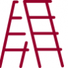 An icon of a ladder